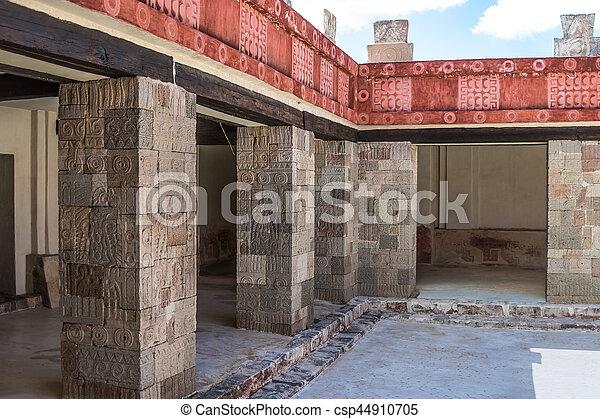 Palace of Quetzalpapalotl - csp44910705