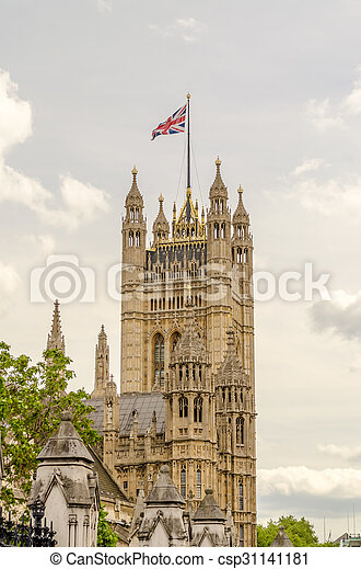Palace of Westminster, Houses of Parliament, London - csp31141181