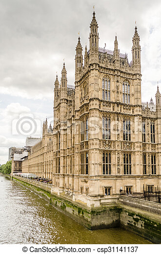 Palace of Westminster, Houses of Parliament, London - csp31141137