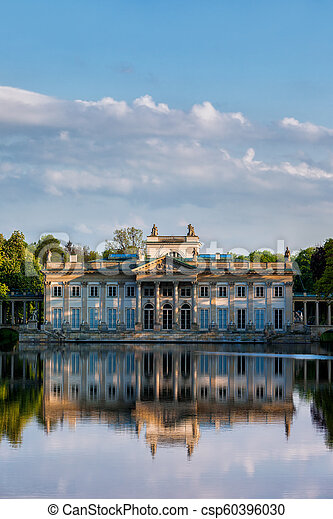 Palace On The Isle In Lazienki Park In Warsaw
