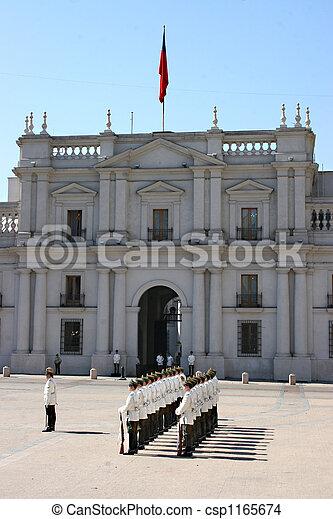 Palacio de la Seung-santiago - csp1165674