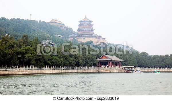 palais été, beijing - csp2833019