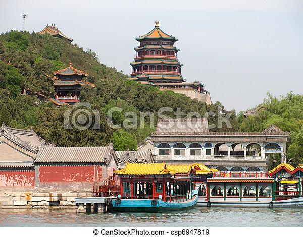 palais été, beijing - csp6947819