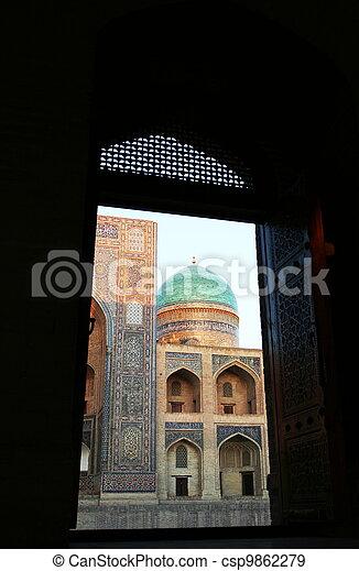 palais, bukhara - csp9862279