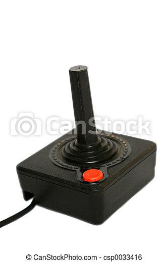 palanca de mando, retro - csp0033416