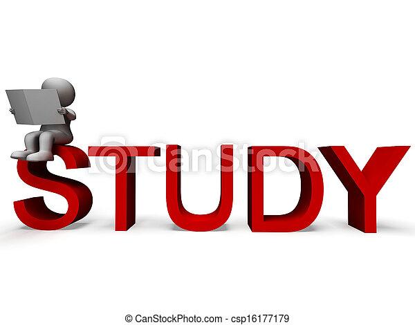 palavra, estudo, aprendizagem, educação, ou, mostra - csp16177179