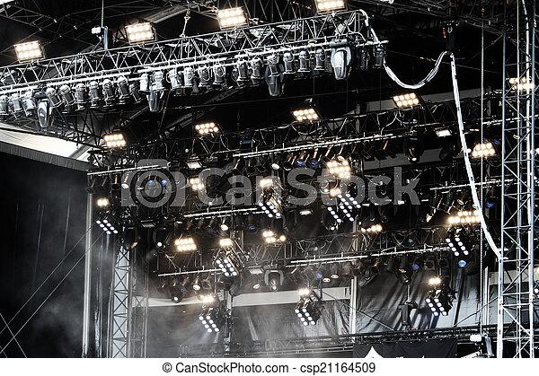 palcoscenico - csp21164509