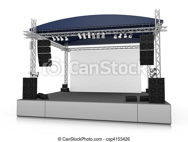 palcoscenico - csp4153426