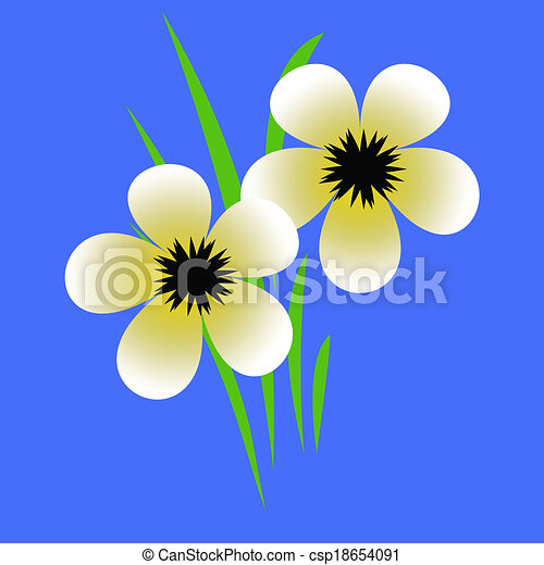 Pale yellow flowers pale yellow flowers with black centers pale yellow flowers csp18654091 mightylinksfo Choice Image