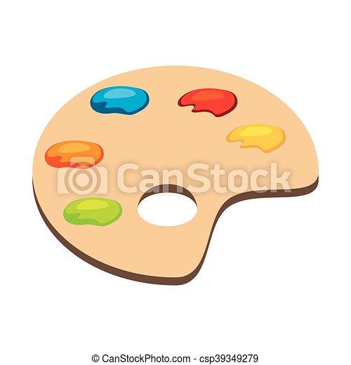palette art color - csp39349279