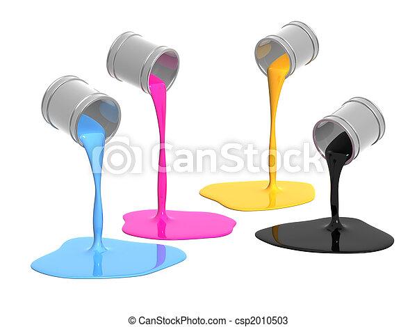 Palette CMYK - csp2010503