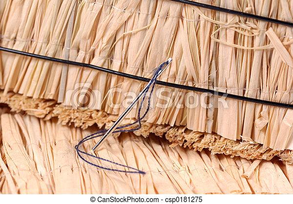palheiro, agulha - csp0181275