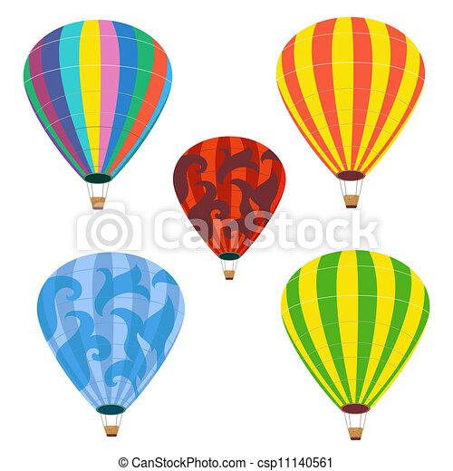 palloni, isolato, collezione - csp11140561
