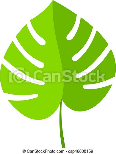 palm leaf icon isolated palm leaf icon flat isolated on white rh canstockphoto com palm leaf clip art printable palm leaf clip art black and white
