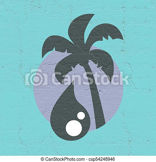 Palm Oil Symbol