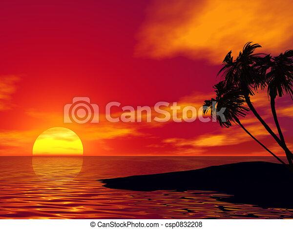 Palm tree - csp0832208