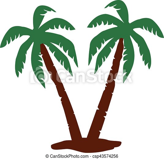 palm trees rh canstockphoto com palm tree leaf vector art palm tree vector line art