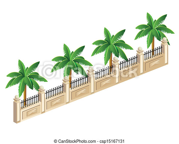 Palm trees - csp15167131