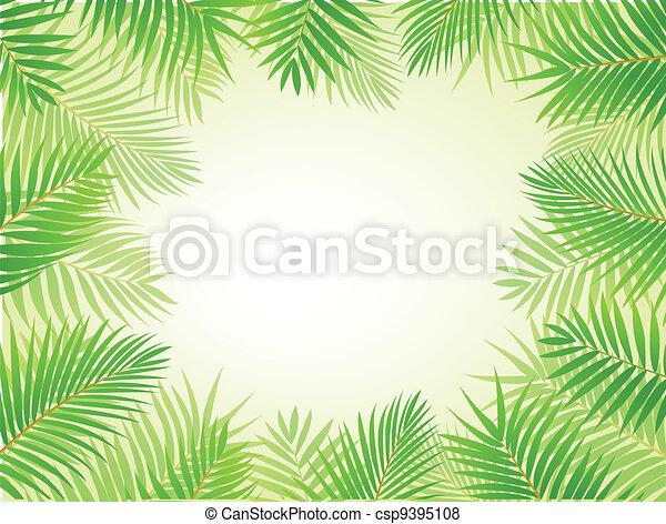 palm vel, achtergrond - csp9395108