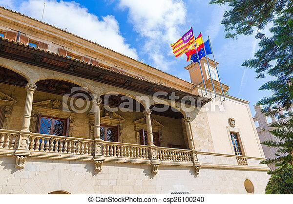 Palma de Mallorca Consulado de Mar near Lonja - csp26100240