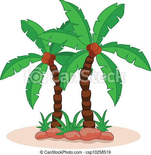 Palmier arbre vecteur paume illustration - Palmier clipart ...