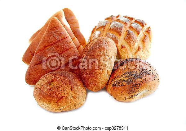 Pan blanco - csp0278311