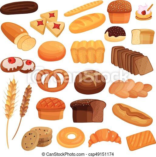 Productos de panadería - csp49151174
