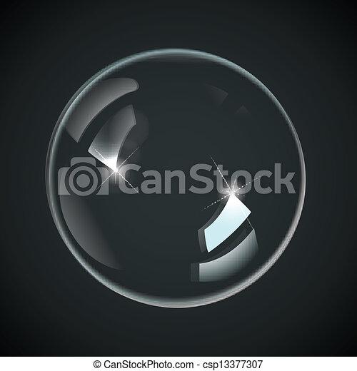 panama, fekete, áttetsző - csp13377307