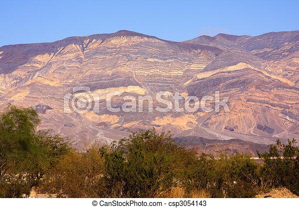 Panamint Valley mountain range - csp3054143