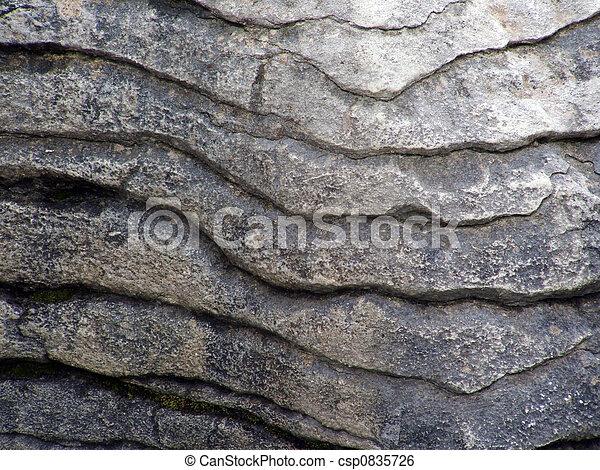 Pancake rock up close - csp0835726