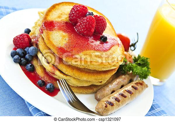 Pancakes breakfast - csp1321097