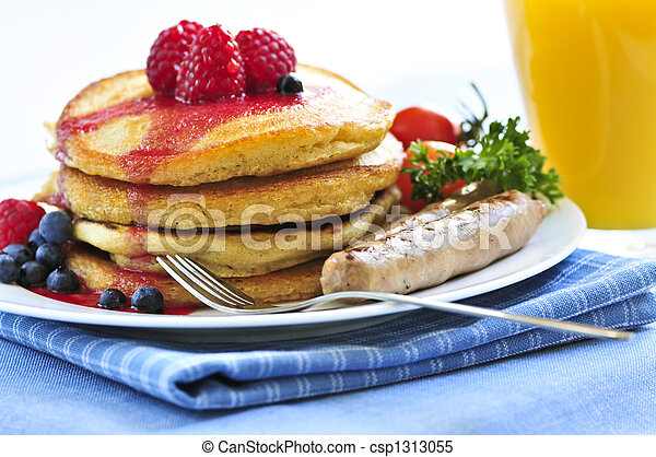 Pancakes breakfast - csp1313055