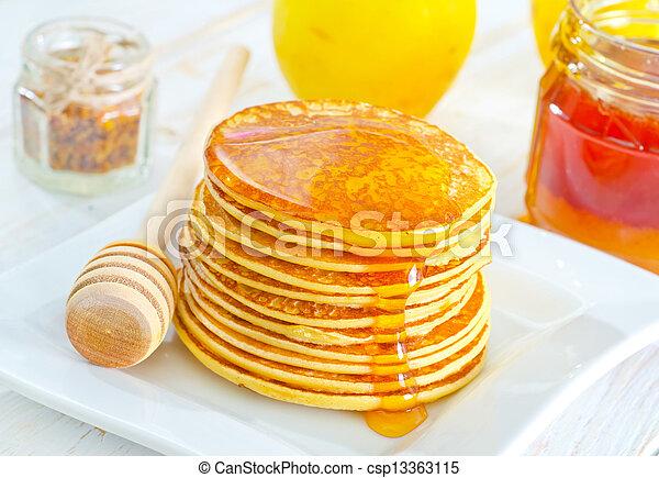 pancakes - csp13363115