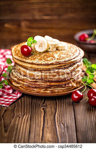 pancakes - csp34485612