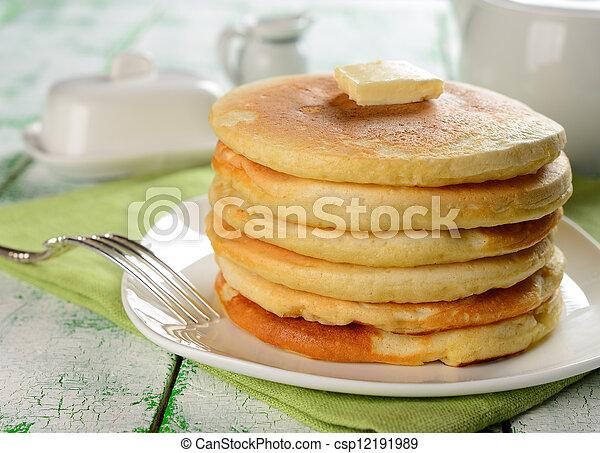 Pancakes - csp12191989