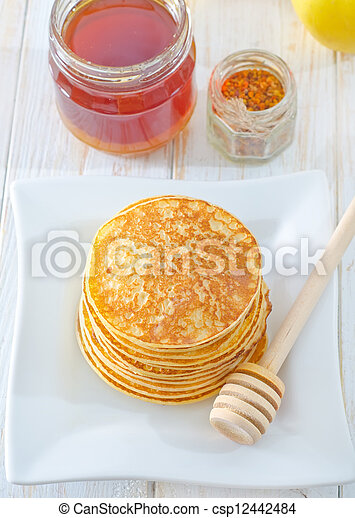 pancakes - csp12442484