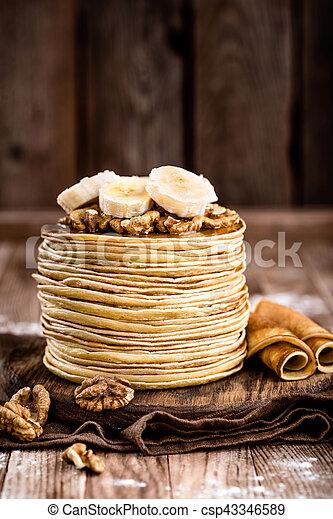 pancakes - csp43346589