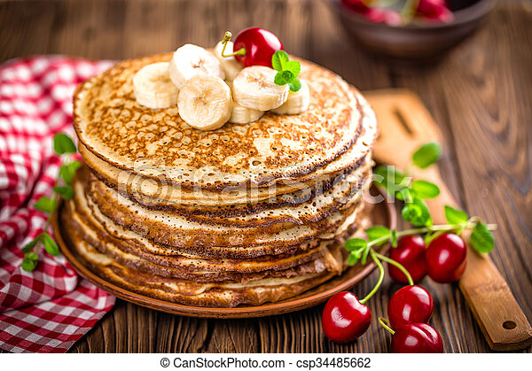 pancakes - csp34485662