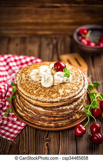 pancakes - csp34485658