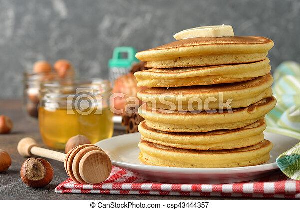Pancakes - csp43444357