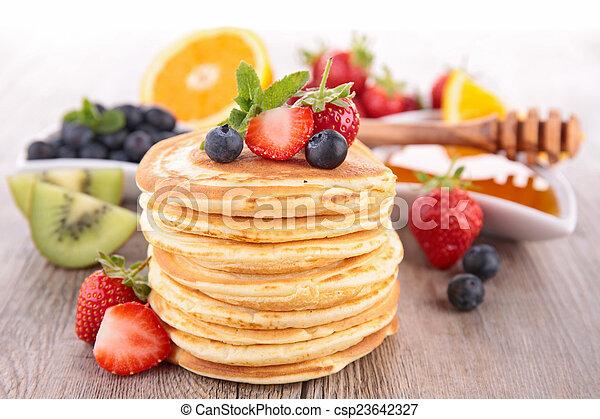 pancakes - csp23642327