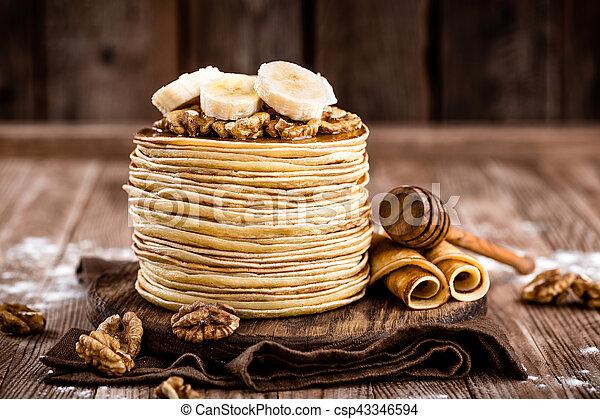 pancakes - csp43346594