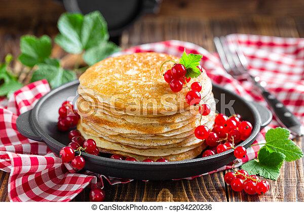 pancakes - csp34220236