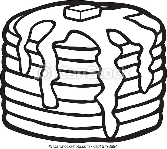 pancakes with butter and syrup eps vectors search clip art rh canstockphoto com pancake clip art free download