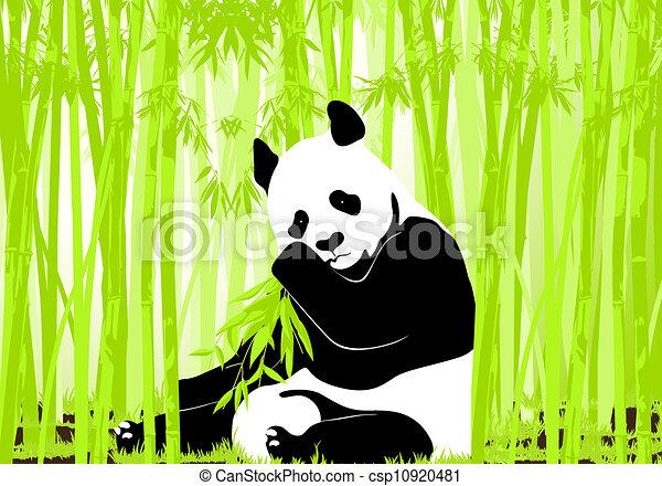 Bamboo Illustration Icon