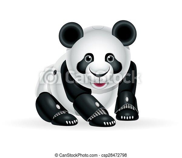 Panda Petit Robot
