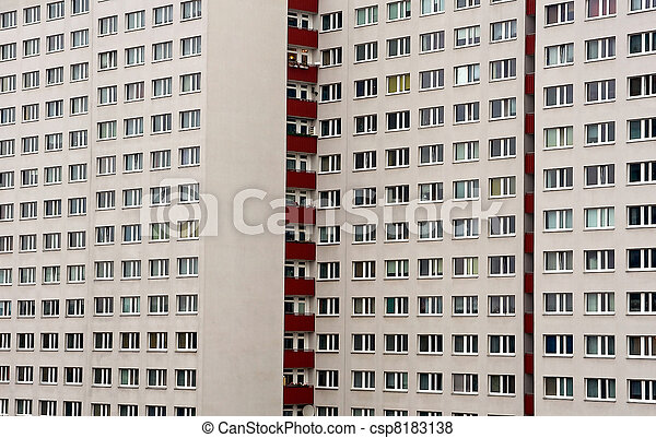 panel house in east berlin germany rh canstockphoto com