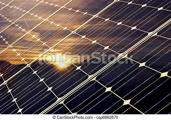 Panel solar - csp6862870