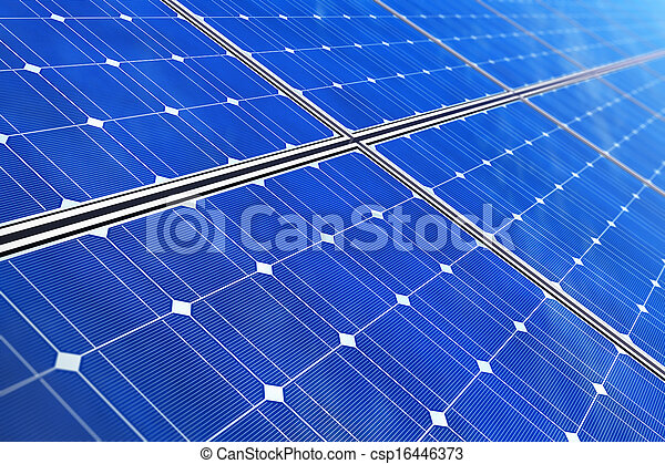 panelen, zonne - csp16446373