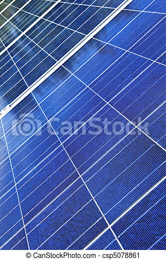 paneler, sol - csp5078861